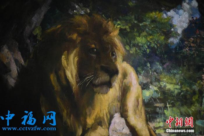 徐悲鸿巨作《奴隶与狮》成史上最高估价亚洲艺术品